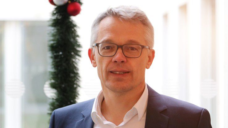 """Uwe Kloos, NTT Data: """"Wir wollen 300 Mitarbeiter einstellen in einem zunehmend schwieriger werdenden Arbeitsmarkt."""""""