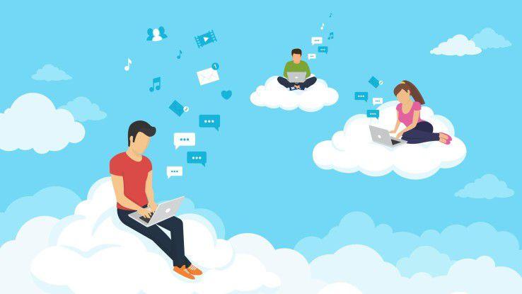 Den Unternehmen stehen unterschiedliche Cloud-Modelle zur Verfügung.