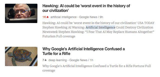 """Stephen Hawking verteufelt Artificial Intelligence (AI). Am selben Tag erkennt Google's AI """"Deepmind"""" eine Schildkröte als eine Waffe."""