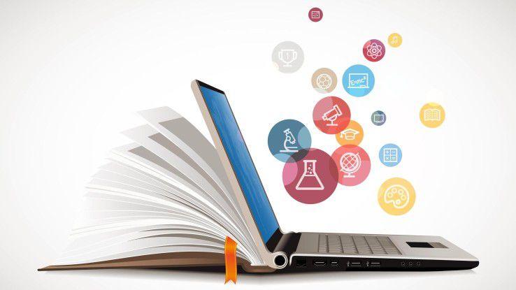 PDFs und E-Books anstatt ausgedrucktes Handout: Bei den Digital Natives kommen die ersten digitalen Angebote bereits gut an.