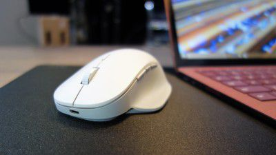 Surface Precision Mouse: Maus-Flaggschiff im Test - Foto: Mark Hachman / IDG
