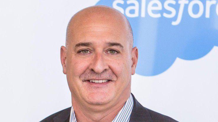 Keith Block, COO und Vice Chairman von Salesforce, peilt 20 Milliarden Dollar Jahresumsatz an.