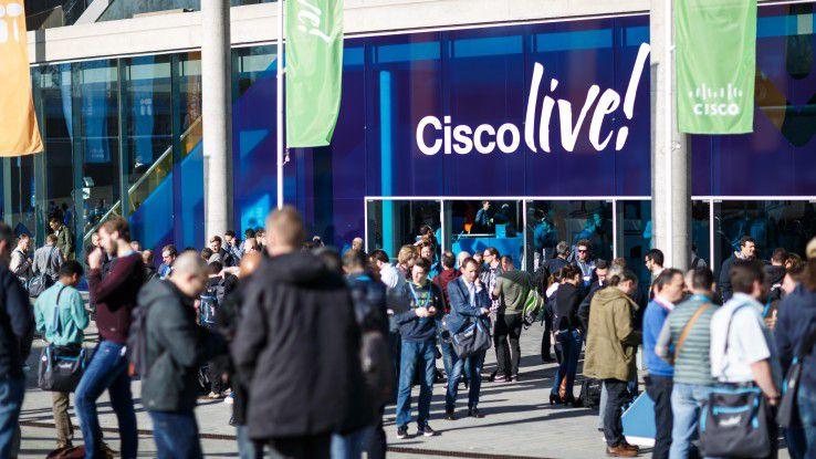 Mit rund 14.000 Besuchern war die Cisco Live! 2018 die bislang größte Veranstaltung des Konzerns in Europa.