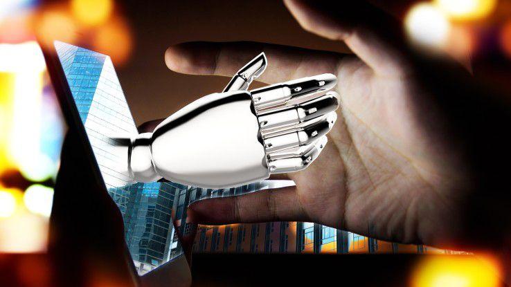 Mensch und Roboter arbeiten Hand in Hand - das zumindest ist die Botschaft der IT-Industrie, wenn es um Robotik geht.
