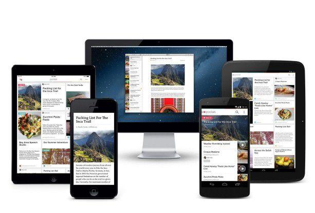 """Pocket heißt zwar nicht mehr wie früher """"Read it later"""", der Dienst übernimmt aber noch die gleiche Aufgabe: nämlich das Sammeln von Webinhalten fürs spätere Lesen."""