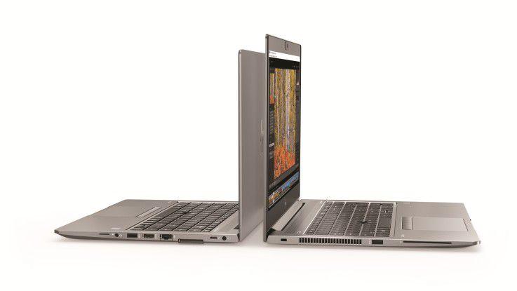 Die beiden HP ZBook-Varianten u14 und u15 positioniert HP als mobile Workstations.
