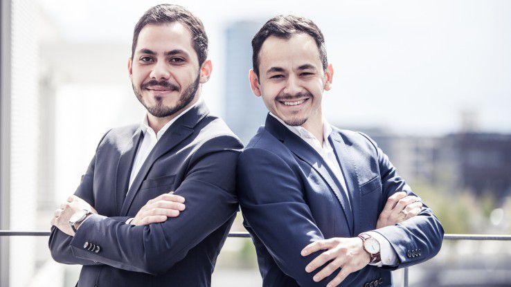 Die beiden Brüder Mikail (links) und Muhammed Bagriacik (rechts) gründeten Vitapio im Sommer 2017.
