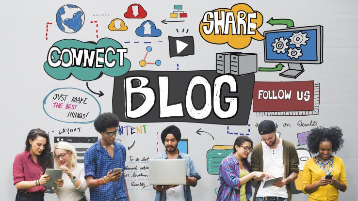 Der Blog ist ein beliebter Kanal für Unternehmen, um Informationen zielgruppengerecht aufzubereiten.