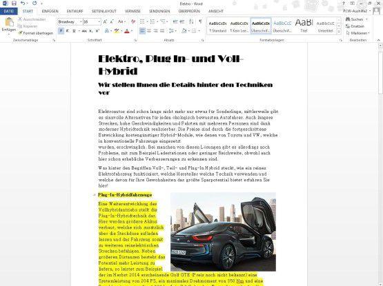 Bearbeiten und verändern Sie Ihr PDF in Word.