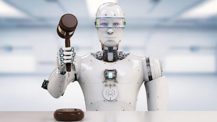 Wenn Menschen die rieisigen Datenmengen nicht mehr bewältigen können, müssen Software-Roboter dies übernehmen.