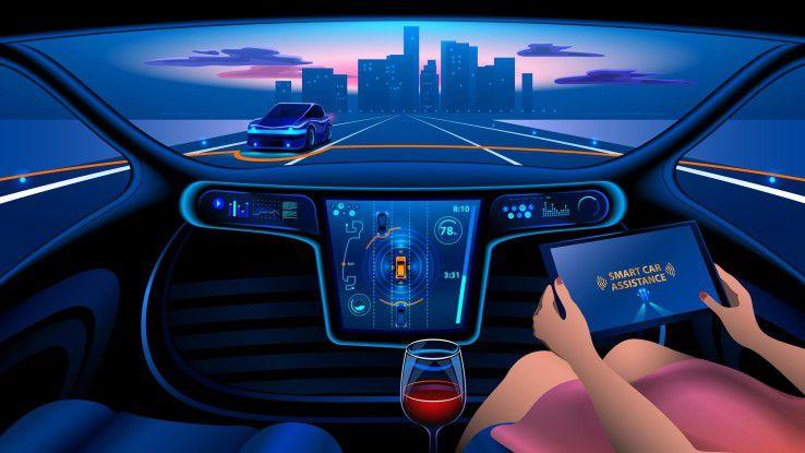 Nicht nur autonome Fahrzeuge sind auf künstliche Intelligenz angewiesen. Die Automobilindustrie gehört zu den Vorreitern beim Einsatz von KI-Techniken.