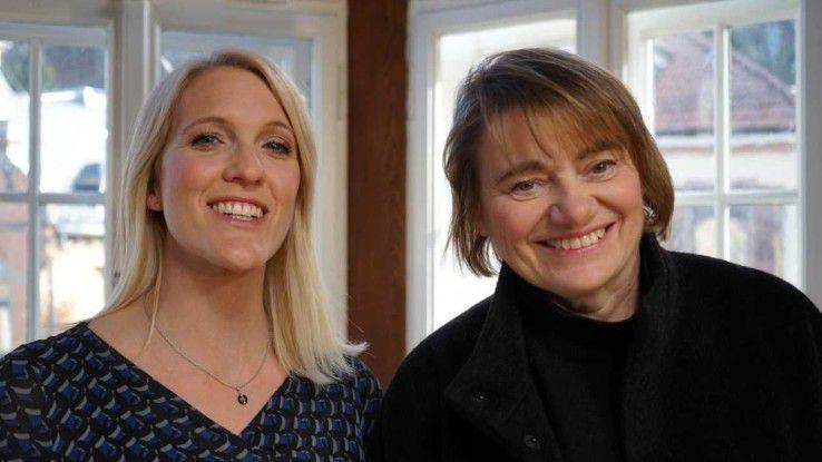 Gemeinsam mit weiteren sechs Partnerinnen wollen die beiden Geschäftsführerinnen Tatjana Erhardt (l.) und Andrea Rösinger Gründerinnen helfen, ihre Ideen zu einem Geschäftsmodell zu entwickeln.