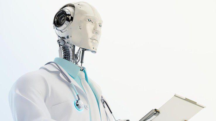 Der Roboter auf Visite ist zwar noch Zukunftsmusik, doch Techniken wie KI oder Deep Learning erobern den klinischen Alltag.