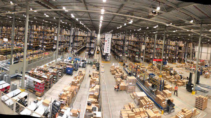Das Fulfillment Center von Dell EMC in Tilburg ist der zentrale Dreh- und Angelpunkt für Europa.
