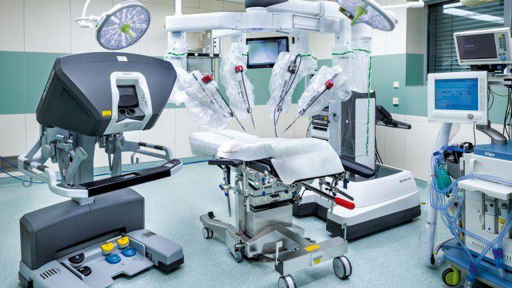In Essen ist beispielsweise bereits ein DaVinci-OP-Roboter im Einsatz.