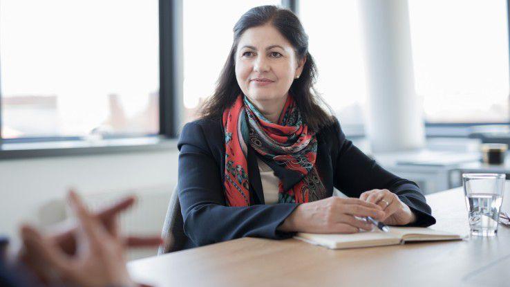 """Elisabetta Castiglioni findet die IT-Branche """"ausgesprochen spannend"""" - und ermutigt Frauen, den Schritt in die IT zu wagen."""
