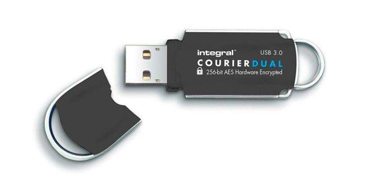 Diese USB-Sticks greifen in Punkto Sicherheit unter die Arme.