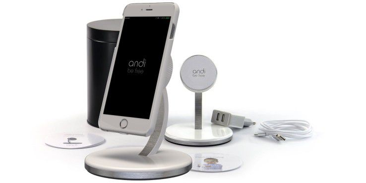 drahtlos laden andi wireless charging schickes system. Black Bedroom Furniture Sets. Home Design Ideas