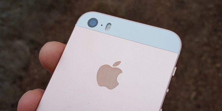 """""""Designerstück"""" iPhone SE"""