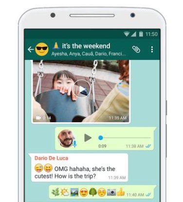 Das Lachen könnte Whatsapp-Nutzern bald vergehen.
