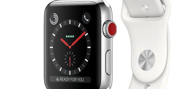 Die LTE-Version erkennt man am roten Punkt.