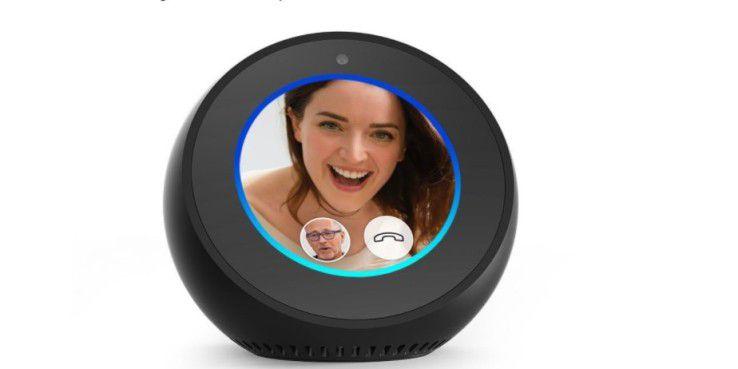 Echo Spot mit Videotelefonie.