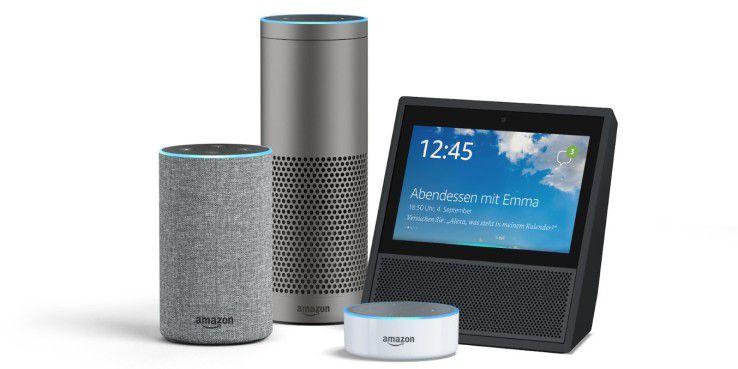 Amazons Alexa-Offensive: Neuer Echo, Echo Plus, Echo Show und Echo Dot