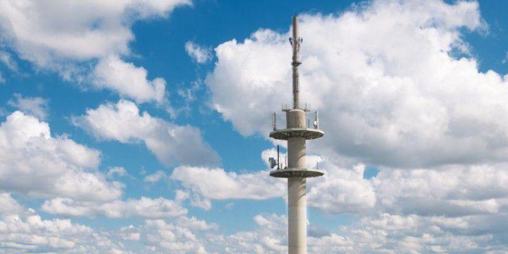 Android sendet heimlich Standortdaten an Google. Das Foto zeigt den LTE-Sendemast in Kyritz/Brandenburg.