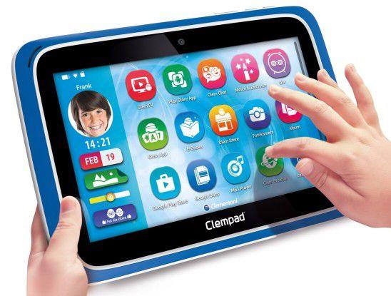Das Clempad empfiehlt der Hersteller ab sechs Jahren.