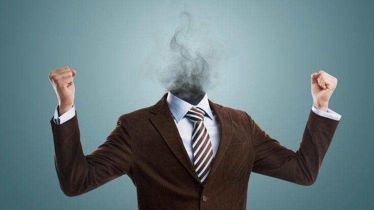 Bis die Köpfe rauchen: Seit 2006 sind die Krankheitsfälle von Burnout auf Grund von zu hoher Arbeitsbelastung um das Zwanzigfache gestiegen.