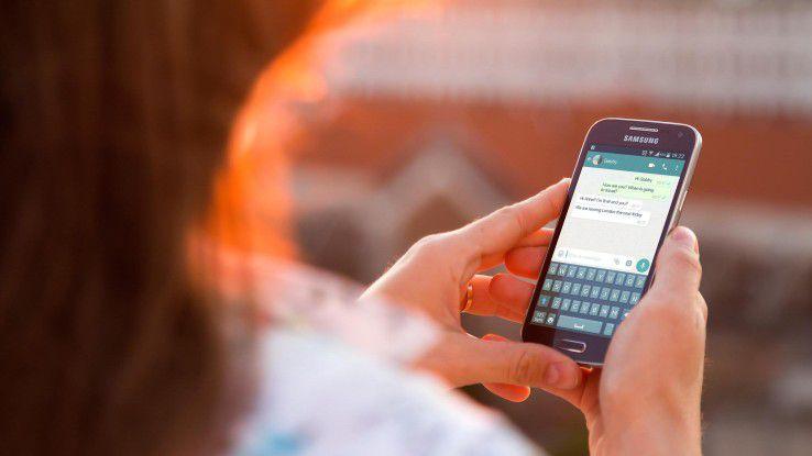 Continental verbietet mit sofortiger Wirkung die Nutzung von WhatsApp und Snapchat auf Diensthandys.