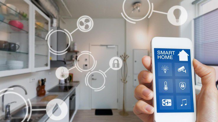 Vor allem schlecht gesicherte IoT-Devices im Smart Home könnten ein Angriffsziel sein.