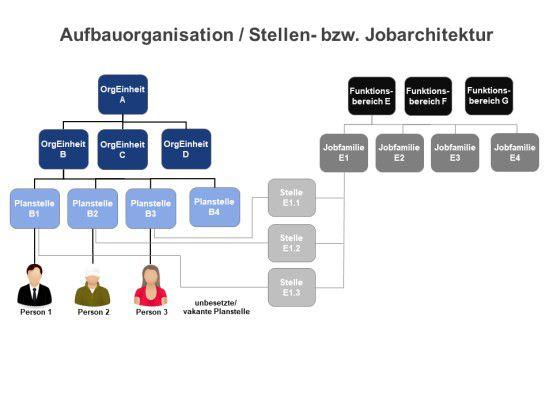 Aufbauorganisation / Stellen- bzw. Jobarchitektur