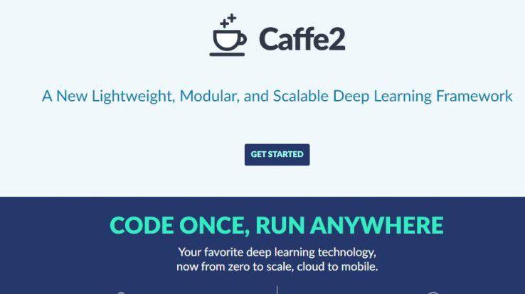 Das Deep Learning Framework Cafee2 ermöglicht eine bessere Spracherkennung und das Erstellen von KI-Apps.