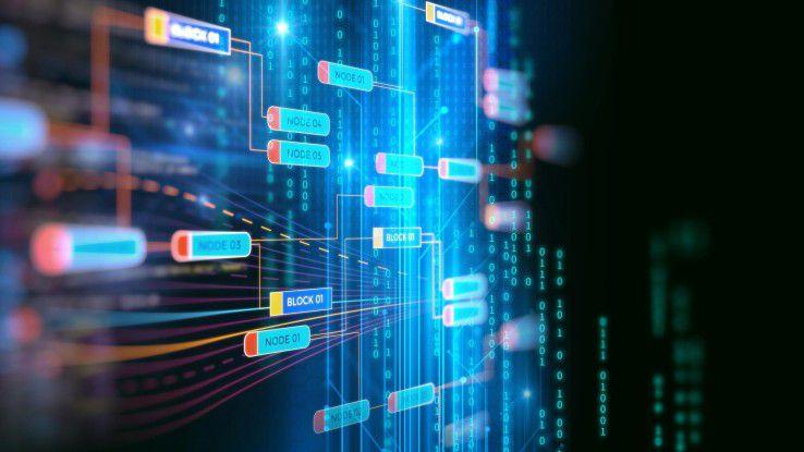 Provider wie Amazon, Microsoft und SAP bieten Blockchain-Services als Dienste auf ihren Cloud-Plattformen an.