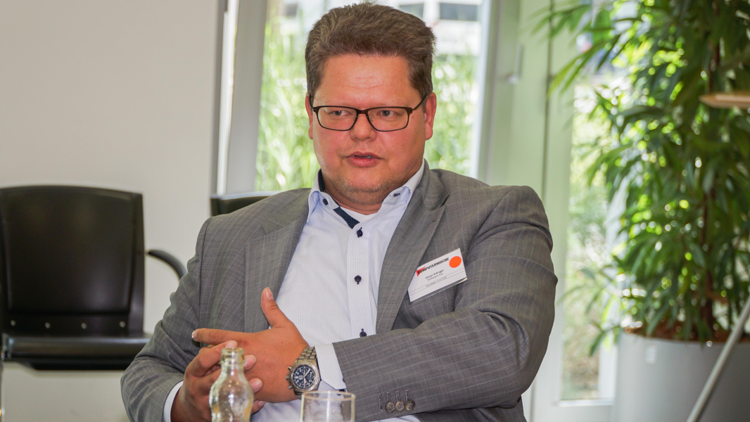 Oliver Edinger, Vice President Internet of Things Competence Center, Software AG