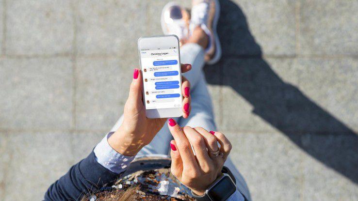 Immer mehr Nutzer verwenden ihre Messaging App auch zum Telefonieren.
