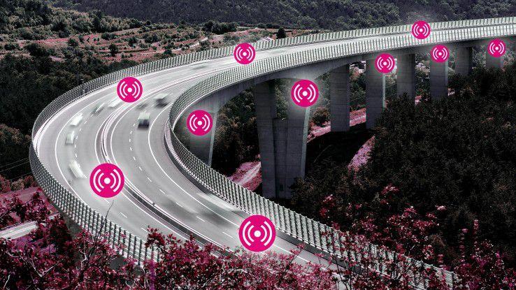 Mit IoT-Sensoren will die Bundesanstalt für Straßenwesen die intelligente Brücke realisieren.