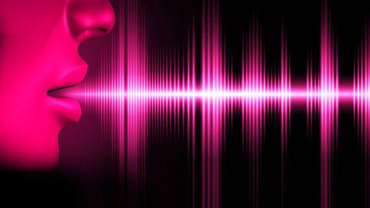 Voice-Biometrie, etwa als SprachID genutzt, soll die Authentifizierung erleichtern.
