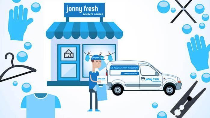Der digitale Wäscheservice Jonny Fresh identifiziert mit Geomapping besonders lukrative Gebiete und steuert datenbasiert Logistik und Marketing-Kampagnen.