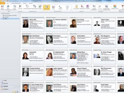 Mit Hilfe des Xing Connectors für Outlook bleiben alle Ihre Kontakte in Outlook auf dem neuesten Stand.