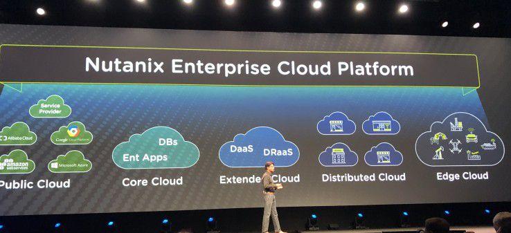 Multi-Cloud: Nutanix sieht sich als Mittler zwischen den verschiedenen Cloud-Welten. Im Bild Sunil Potti, Chief Product & Development Officer bei Nutanix.