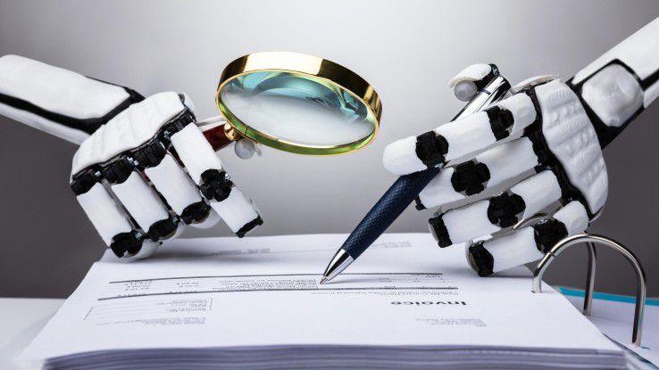 Robotic Process Automation eignet sich zum Beispiel dafür, Kontrollvorgänge zu übernehmen.