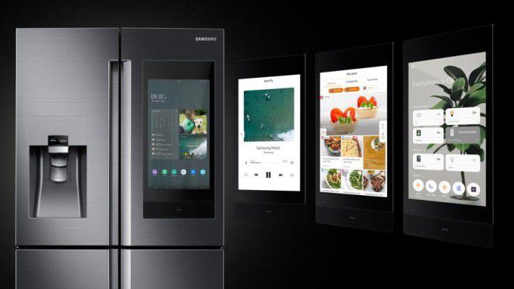 Mit der neuen Generation des Samsung Family Hub macht Samsung den smarten Kühlschrank zum Familien-Treffpunkt.