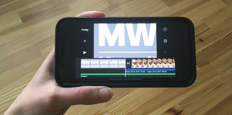 Der fast randlose Bildschirm des iPhone X erfordert eine Anpassung vieler Apps.