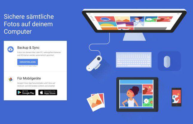 Google kann eine echte Alternative zur iCloud sein.