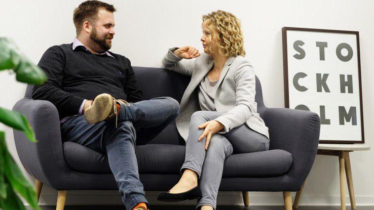 Ingmar Bertram und Berit Moßbrugger, Chefs von kursfinder.de, gehen unterschiedlich mit dem Thema Work-Life-Blending beziehungsweise Work-Life-Balance um.
