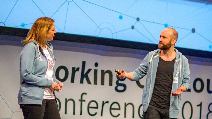 Lukas Fütterer treibt Working Out Loud bei Daimler voran. In seinen Augen bringt die Arbeitsmethode für das Individuum und das Unternehmen einen großen Mehrwert, da sie abteilungsübergreifende Kommunikation ermöglicht.