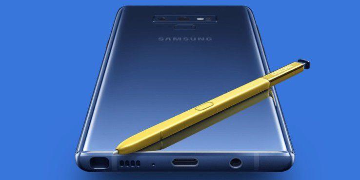 Das Note 9 ist das neue Topmodell von Samsung.