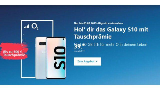 Samsung Aktion Galaxy S10 Kaufen Und Fur Altes Smartphone Bis 600